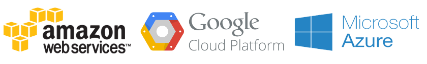 Image result for aws  gcp  azure